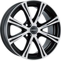 BORBET X8 . Представлен цвет: black chrome polished, другие доступные цвета, размеры и цены по ссылке.