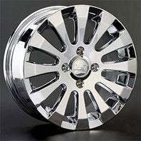 LS Wheels L1 . Представлен цвет: chrome, другие доступные цвета, размеры и цены по ссылке.