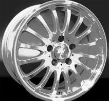Racing Wheels BZ-24 . Представлен цвет: Chrome, другие доступные цвета, размеры и цены по ссылке.