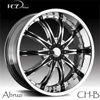 VCT Wheel Abruzzi . Представлен цвет: chrome+black, другие доступные цвета, размеры и цены по ссылке.