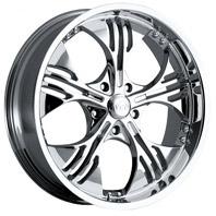 VCT Wheel BARZINI . Представлен цвет: Chrome, другие доступные цвета, размеры и цены по ссылке.