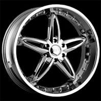 VCT Wheel BRUNO . Представлен цвет: Chrome, другие доступные цвета, размеры и цены по ссылке.
