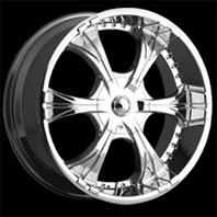 VCT Wheel CAPONE . Представлен цвет: Chrome, другие доступные цвета, размеры и цены по ссылке.