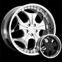 VCT Wheel SABATINI . Представлен цвет: Chrome, другие доступные цвета, размеры и цены по ссылке.