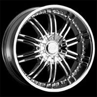 VCT Wheel SANTINO . Представлен цвет: Chrome, другие доступные цвета, размеры и цены по ссылке.