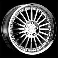 VCT Wheel SPAZIO . Представлен цвет: Chrome, другие доступные цвета, размеры и цены по ссылке.