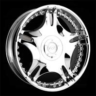 VCT Wheel Zamano . Представлен цвет: Chrome, другие доступные цвета, размеры и цены по ссылке.