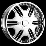 VCT Wheel Mandretti . Представлен цвет: chrome, другие доступные цвета, размеры и цены по ссылке.