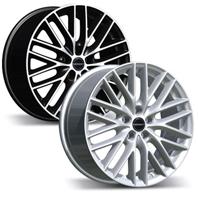 BORBET BS5 . Представлен цвет: black polished matt, другие доступные цвета, размеры и цены по ссылке.