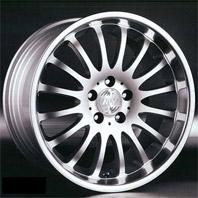 Racing Wheels BZ-24R . Представлен цвет: Chrome, другие доступные цвета, размеры и цены по ссылке.