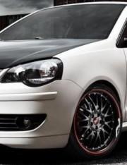 Volkswagen Polo на дисках DOTZ Mugello